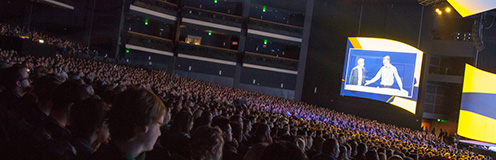 The Adobe MAX audience.